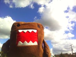 Domo and the Cloudy Sky by lemon-stockings