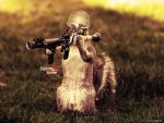 Squirrel Soldier by stipan93
