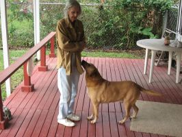 My Mom and Astro by Shoofly-Stock