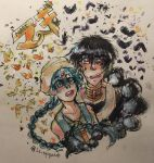 Aladdin and Judal by Dreavergirl12