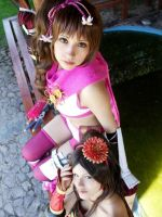 Kai and Kunoichi by Zettai-Cosplay