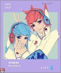 plusle and minun by aquage