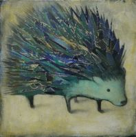Spiney Creature (Blue) by SethFitts