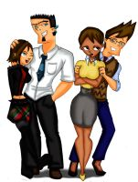 TDI Dun+Cour Family by drago-flame
