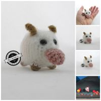 Mini Poro amigurumi by elveawen