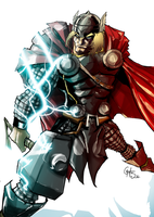 Thor by theSadSon