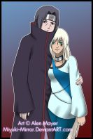 AT: Alex and Itachi by DangerMayer