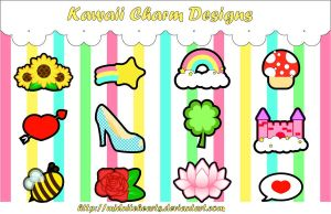 Kawaii Charm Designs by MidniteHearts