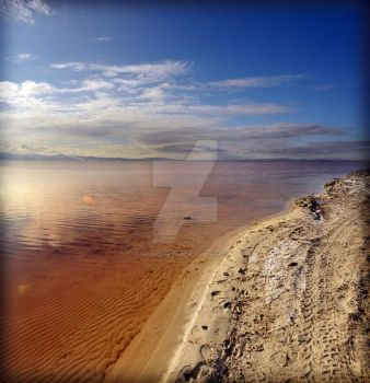 Great Salt Lake North Stansbur by houstonryan