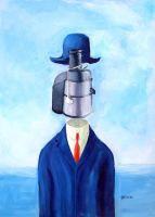 Rene Magritte by manohead