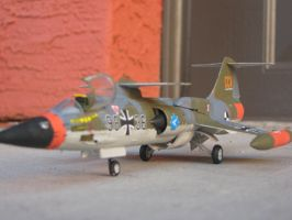 *RARE* 1/72 F-104G Starfighter CCV (front) by Coffeebean2