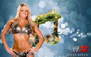WWE 12 Kelly Kelly Fan Art by vedangb91