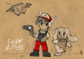 Craft Cave Story by raizy