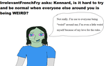 Ask My OCs 14: Kennard 1 by LadyDelaisol