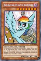 Reign-Beaux of Dark Equestria(MLP): Yu-Gi-Oh! Card by PopPixieRex