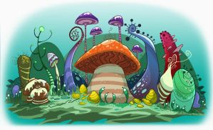 shrooms by Brett2DBean