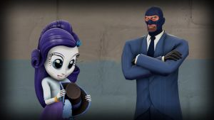 Spy Meets Human Rarity by Cowboygineer