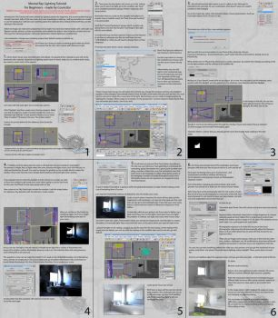 Mental Ray Lighting Tutorial by Councilor