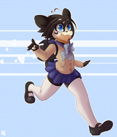 Fashionably Late Kenny by spittfireart