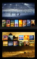 Silhouettes Calendar 2013 by IsacGoulart