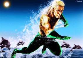 Aquaman by Robert-Shane