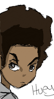 Huey from The Boondocks by JohnbaJuice