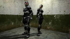 Male and Female Nanosuit 2.0 Model by Binary-Map