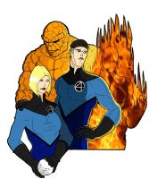 The Fantastic Four by lone-wolf-boudin