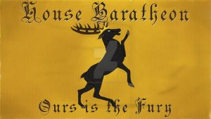 House Baratheon - a song of ice and fire by AngelandJell-o