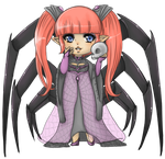 Along Came a Spider by La-Chocolat