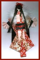 Japanese Doll - Red by Chablina