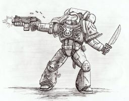 Space Marine by ridontknow
