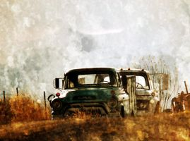 GMC Truck - Over the Hill by houstonryan