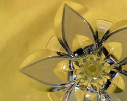 glass flower by starfishenterprise