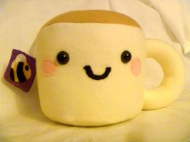 Bee Tea Plushie by JustMadeCute