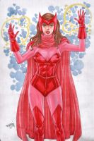 Scarlet Witch by wardogs101