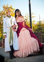 Pandora Hearts: Oz and Alice by Torchilina