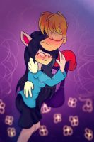 Request: A hug among colors by OX3400-2