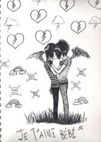 Emo love by xx---Believe-It---xx