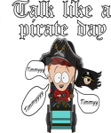 Talk Like A Pirate Day - Timmy by DigitalCleo