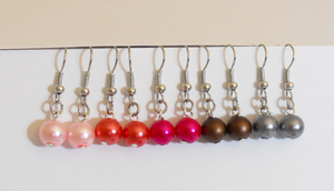 Pearl-Earrings-Pink-Edition by LypticDesigns