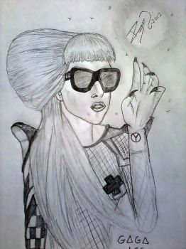LADY GAGA by ROOGERT