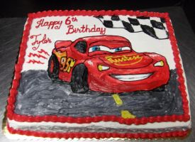 Cars Cake by Saya1984