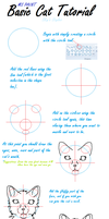 *TUTORIAL* MS paint: headshot of cat (PART 1/2) by skyfeathertail