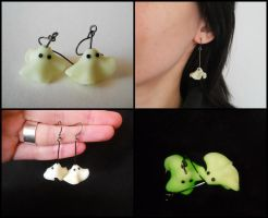 Ghosts Earrings by ALINAFMdotRO