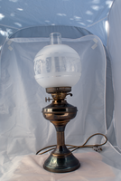 DSC06323 Victorian Oil Lamp by wintersmagicstock