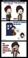 Day of the Doctor .: COMIC :. by noahjayne