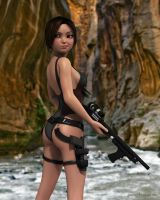 Lara Toon Swimsuit by JpauCroft