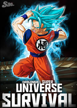 Goku in Universe Survival - Poster by SaoDVD