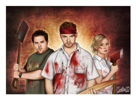 Shaun of the Dead by CarolBarajas